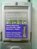 4aaa The AccuPower AccuSafe the hardcase for your batteries/memory cards
