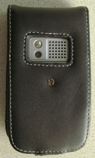 5b The Proporta Alu Leather case for Treo 680(version 2)   the review