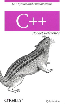 front OReilly C++ Pocket Reference   the review